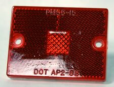 """Peterson MFG 1993 01 PM55-15 DOT AP2-88 Red Tail Light Assembly 2 3/4"""" x 2"""""""