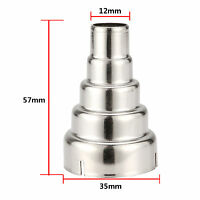 Stainless Steel 5 Layer Reducing Nozzle For Heat Gun  Nozzles Kit -overload
