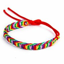 9 x Colorful Handmade Braided Friendship Bracelets Ankle Bracelet SS