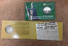 Ireland 2016  Proclamation of Irish Republic €2 Euro Coin - Free UK P&P