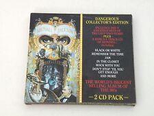 MICHAEL JACKSON - DANGEROUS COLLECTOR'S EDITION - RARO 2 CD EPIC 1991 - OTTIMO
