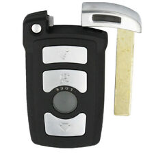 Remote Key Shell for BMW 7 Series E65 E66 E67 E68 4 Button with Uncut Key Blade