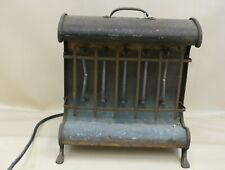 VINTAGE Cabin Copper Lined Portable Space Heater Home Decor Working Canada