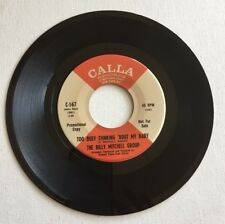 THE BILLY MITCHELL GROUP, TOO BUSY THINKING 'BOUT MY BABY, PROMO 45 RECORD, 1969