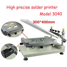 High Precision Manual Stencil Printe Solder Printer / 3040 Solder Paste Printer