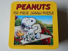 """Peanuts Puzzle 550 Pieces 18"""" x 24"""" A Day in the Park"""