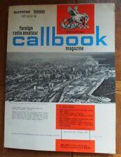 Radio Amateur CALLBOOK (Foreign DX) Summer 1966