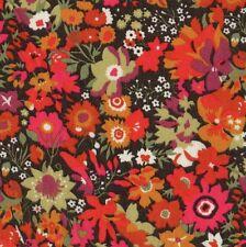 LIBERTY OF LONDON Art Manuela XL FQ Fabric TANA LAWN Classics FLORAL Neon Pink