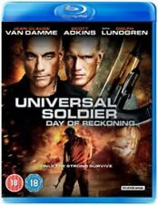 Universal Soldier Day of Reckoning 5055201820501 Blu Ray Region B