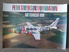 Peter Stuyvesant - Paris New York - 1981 - Affiche ancienne/original poster