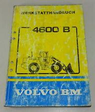 Manual de Taller Volvo Bm Cargadora 4600 B Stand 11/1984