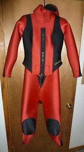 Kettenhofen Women's 2 piece Wetsuit Scuba Dive Hooded 7mm - Size M