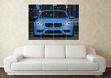 Grand BMW M5 M3 M6 5 series supercar Voiture de sport mur Poster Art Image Print