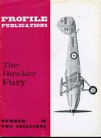 Profile Publications The Hawker Fury #18 Reference Book