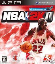 Used PS3 NBA 2K11  SONY PLAYSTATION 3 JAPAN JAPANESE IMPORT