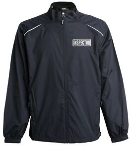 Inspector jacket, windbreaker, Reflective design, professional inspector