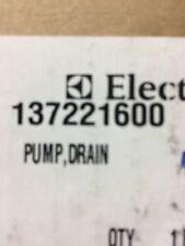 Frigidaire / Kenmore Washer Pump 137221600