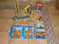 LEGO City Construction Site. 7633, 100 % Complete AVEC NOTICE RARE.