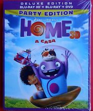 film blu ray disc cartoon home a casa party 3D 2D DVD deluxe edition animation v