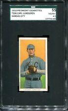 1909-11 T206 Carl Lundgren Kansas City SGC 55 4.5 Tough Card