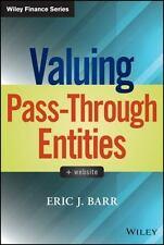 Valuing Pass-Through Entities (Wiley Finance), Barr, Eric J., Good Book