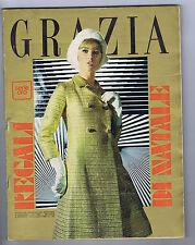 Grazia Serie Oro N. 1295, 1965 – MODA elegante,  Alberto Lupo, Vittorio De Sica