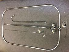 Economy Clawfoot Tub Add A Shower w/Oval Curtain Rod