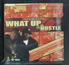 "Frank-N-Dank ‎- What Up / The Hustle 12"" New Sealed JJR 1006 Canada Vinyl Record"