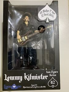 Lemmy Kilmister Motorhead Icon Action Figure Series Loco Ape