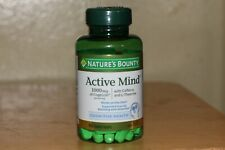 Nature's Bounty Active Mind 1000 mg Cognitive Health 60 Coated Caplets EXP 01/22