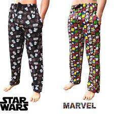 Mens Comics Lounge Pants Novelty Character Pyjamas Nightwear Marvel Star Wars