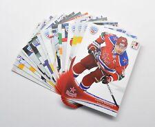2013-14 KHL CSKA Moscow Full 18-Card Base Set