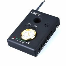 Cx007 Rf Anti-spy Signal Bug Detector Gsm Device Finder Monitor Led Light/Clock