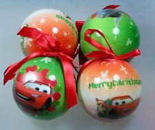 8 Stück Disney Cars Weihnachtsbaumschumuck, Weihnachtskugel, Baumschumuck, We...