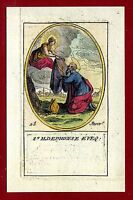 SANTINO   IMAGE PIEUSE - HOLY CARD-  Heiligenbild - S.ILDEPHONSE EVEO
