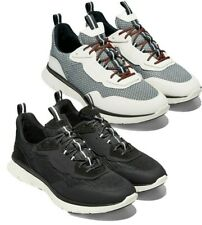 Cole Haan Men's Zerogrand Trainer Shoes Mesh Knit Leather Comfort Sneakers NEW