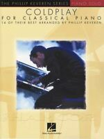Coldplay for Classical Piano Solo Sheet Music Book 14 of Their Best