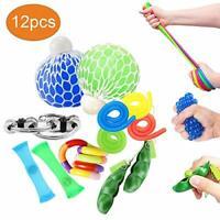 OKSANO Sensory Toys Sets 12Pcs, Fidget Toys for Kids and Adults Autism Fiddle