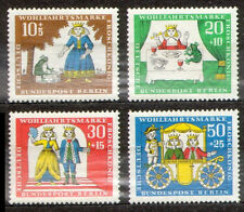 Germany (BRD) 1966 Mi 523-526 Fairy Tales of the Brothers Grimm (VIII) - MNH