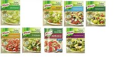 8x 5 Pck. KNORR Salad Herbs 8 different varieties  New from Germany