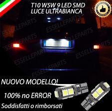 COPPIA LUCI TARGA 9 LED VW TRASPORTER T4 T10 W5W BIANCO CANBUS 100% NO AVARIA