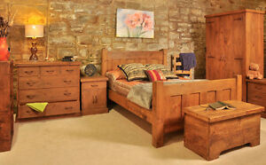 RUSTIC PLANK BEDROOM FURNITURE | CHEST OF DRAWERS | WARDROBES | HANDMADE
