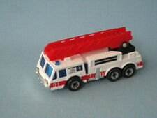 Matchbox Ladder Fire Engine Blanco Con Rojo Escalera Juguete Coche Modelo Mb Fire Dept
