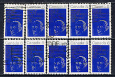 Canada #611(2) 1973 8 cent BISHOP LAVAL - FIRST Bishop in Quebec 10 Used