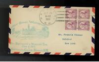 1932 Daniel Webster FDC # 725  first day cover