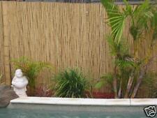"Tiki Bar Hut Bamboo Fence Natural Fencing 1""x 3'x 8'"