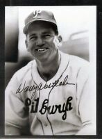 """Pittsburgh Pirates WALLY WESTLAKE signed autographed Postcard Photo 3 1/2"""" x 5"""""""
