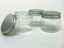 25 x 50ml Empty Lotion Tub/craft/cosmetic pot/make up/nail art container - C/M