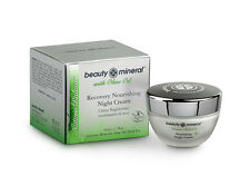Nourishing Facial Night Cream w. Olive Oil, Nature Balance, by Beauty Mineral DS