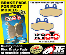 FRONT SET DISC PADS BRAKE PADS TO SUIT BETA RK6 50 / 50cc (93-96)